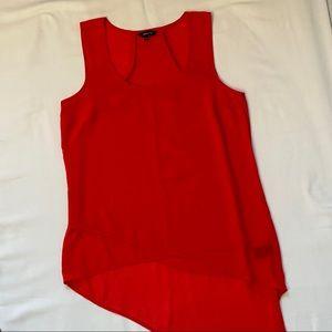 3/20$ RW&Co sleeveless red blouse